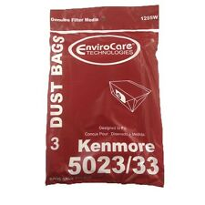 Kenmore 5033 , 5023 Type E Canister Vacuum Bags (3pk) by EnviroCare