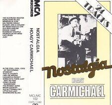 Hoagy Carmichael 'NOSTALGIA' Audio Cassette - UK MCA