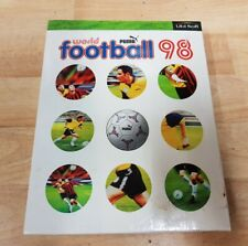 World Football 98 PC BIG BOX Spiele Puma 1997 seltene Vintage Sport Ubisoft