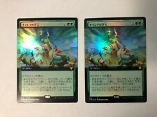 MTG - 1x Nylea's Intervention Extended Art Japanese Foil Theros Beyond Death NM