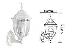 Lanterna da giardino antica lampada parete applique esterno a muro retrò bianca