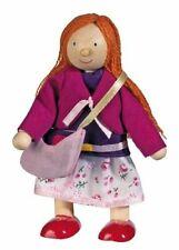 Goki 51726 - Biegepuppe Mutter für Puppenhaus Holz
