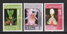 Dutch Antilles - 1977 Carnaval Willemstad Mi. 323-25 MNH