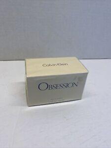 CALVIN KLEIN OBSESSION 3.4 OZ EAU DE PARFUM VINTAGE New Sealed Box NOS