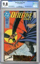 Detective Comics  #595  CGC  9.8 NMMT  White pgs 12/88 Irv Novick & Steve Mitche