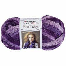 Red Heart Boutique Sashay, Boogie - Purple Variegated Metallic - Same Dye Lot