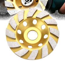 100mm Diamond Segment Grinding Wheel Cup Disc Grinder Concrete Granite Stone CHH