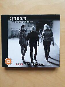 Queen + Adam Lambert - Live Around The World Blu Ray & CD OVP = wie neu =
