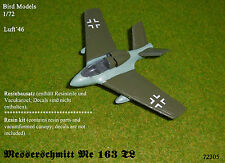 Messerschmitt Me 163 TL           1/72 Bird Models Resinbausatz / resin kit