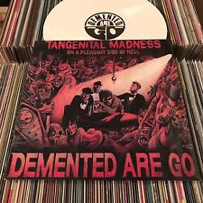 DEMENTED ARE GO TANGENITAL MADNESS PSYCHOBILLY WHITE VINYL LP