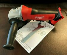 """New Milwaukee M18 18V 2680-20 Cordless Angle Grinder Cut Off Tool 4-1/2"""" Paddle"""
