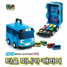 Little Bus tayo Carrier Storage 12 Car Hold Organizer Animation Character_IA