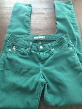 Women's JustUSA Los Angeles Skinny Jeans Green SZ 5