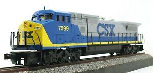 MTH Premier #20-2006-0: CSX GE Dash-8 40 Diesel Locomotive, C8