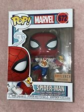 2020 Funko POP! Box Lunch Exclusive Marvel Spider-Man with Pizza Box #672