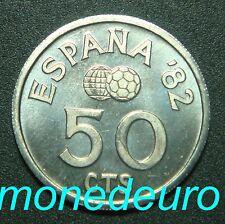ESPAÑA 1980 *80 50 CENTIMOS SIN CIRCULAR REY JUAN CARLOS I MUNDIAL ESPAÑA 82 UNC