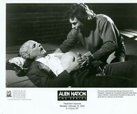 GARY GRAHAM ERIC PIERPOINT ALIEN GIVES BIRTH ALIEN NATION ORIG 1990 FOX TV PHOTO