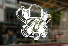 25cm DIVER Scull Scuba Diving Vinyl Stickers Funny Decals Bumper Car Auto Laptop