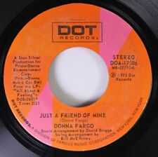 Country 45 Donna Fargo - Just A Friend Of Mine / You Can'T Be A Beacon (If Your