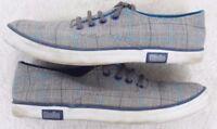 Canvas Shoes Size 5 (39) Giallo Gray White Blue WoMen's Woman's Flats Dress Five