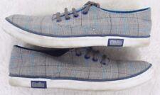 Canvas Shoes Size 5 (39) Giallo Gray White Blue WoMens Choice Flats Dress Five