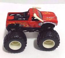 Hotwheels El Toro Loco Monster Truck Toy Red EUC 1/64 2005 RARE MINT