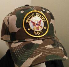 United States NAVY Camouflage Baseball Cap U.S.NAVY  Baseball Camo Hat