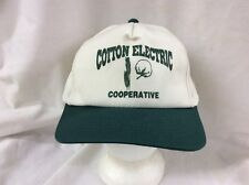 trucker hat baseball cap Cotton Electric Cooperative retro vintage SnapBack  rave fa5f076e5c39