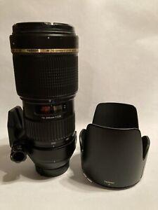 Tamron SP AF 70-200mm F/2.8 Di LD [IF] Macro A001 Lens for Nikon w/ Hood