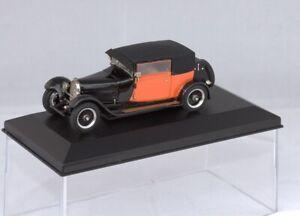NEWS 1/43 ABC BRIANZA  BUGATTI T44 FIACRE 1929 (LONG CAB) vendu montée