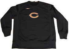 Nike Chicago Bears On-Field Apparel DriFit Size Large Navy Sweatshirt FREE SHIP!