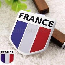 Car Motorbike Truck France French Flag Shield Emblem Sticker Badge Decal Decor