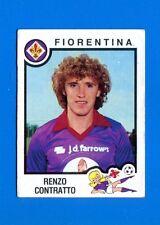 CALCIATORI PANINI 1982-83 Figurina-Sticker n. 100 - CONTRATTO - FIORENTINA -New
