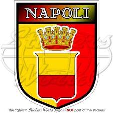 """NAPLES City ITALY Città di Napoli Italian 100mm (4"""") Vinyl Bumper Sticker Decal"""