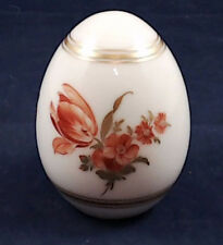 Nice KPM Berlin 1972 Limited Edition #249 Porcelain Egg with Floral Design Ei