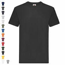 Fruit of the Loom SuperPremiumT Herren T-Shirt Schwere Qualität Basic Shirt