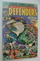 😁 THE DEFENDERS Comic Book #29 issue marvel 1975 bronze Age Hulk Dr. Strange