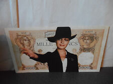 "Introuvable Billet promotionnel 1000 Francs Romy schneider 1980 ""La banquière"""