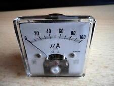 Ampermeter zum Einbauern 50 x 50mm