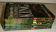 Stephen King ~ The Green Mile ~ 1996 6 Volume Paperback Book Set Clean
