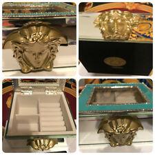 MEDUSA GOLD JEWELRY TRINKET BOX RARE NEW SALE
