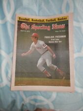 July 12th 1975 THE SPORTING NEWS-Fred Lynn Boston Red Sox