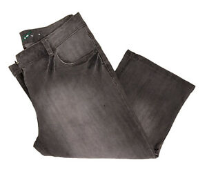 Ladies Size 12 Black Denim Capri Shorts (Peddle Pushers) Jeans (VGC)