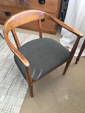 Vintage 1950s-1960s Danish Mid Century Modern Armchair Desk Chair