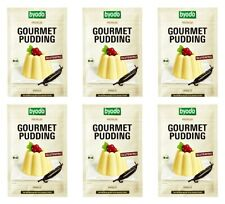 (?4,58/100g) 6 x 36g  BIO GOURMET PUDDING Vanille  - Glutenfrei byodo