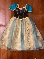 Disney Store Frozen Anna Ball Gown Costume, Size 7/8