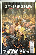 Ultimate Avengers Vs Neu Ultimates Death Of Spiderman #5 NM 1. Aufdruck Marvel