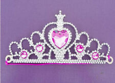 6 Silver Princess Tiaras - Pinata Toy Loot/Party Bag Fillers Wedding/Kids