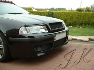 Fits Skoda Octavian MK1 (2000-2006) - Eye Brows Head Light Cover Set