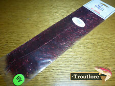 EP SPARKLE BRUSH BLACK / RED ENRICO PUGLISI - NEW FLY TYING DUBBING MATERIAL